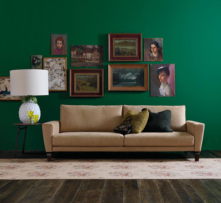 Scegliere colore divano e tu quale sei for Divano blu colore pareti