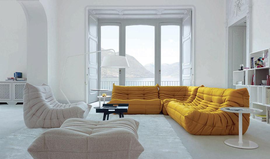 Scegliere colore divano e tu quale sei - Divano togo ligne roset ...