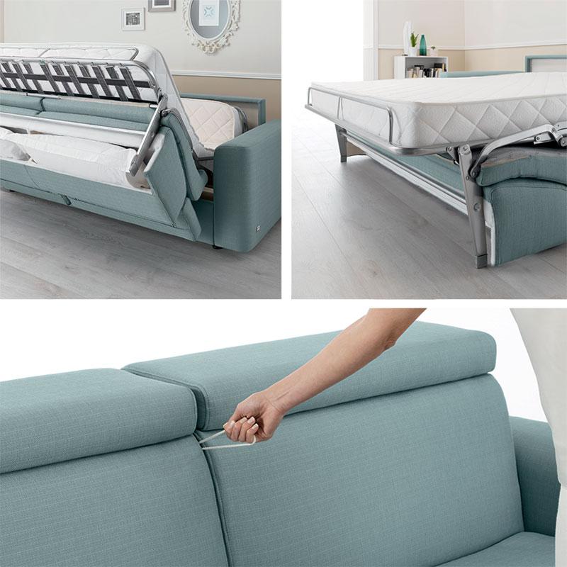 Accessori divano letto.