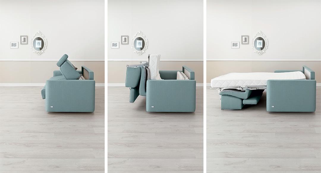 Come scegliere un divano letto matrimoniale comodo - Divano letto per dormire tutte le notti ...
