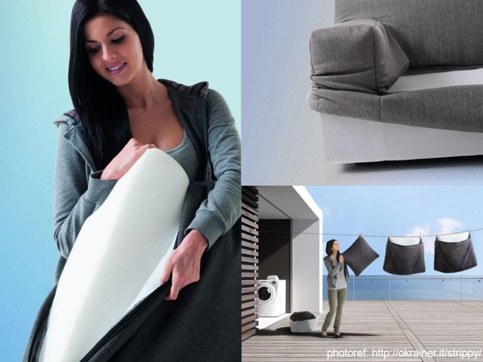 Come sfoderare il divano.