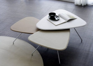 Petalo tavolino di servizio di Doimo Salotti.