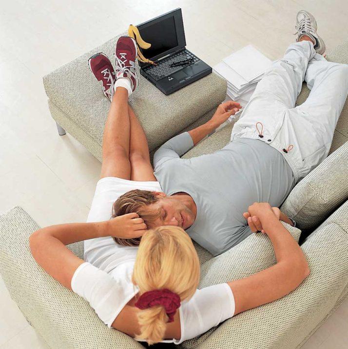 Progetti futuri sul divano.