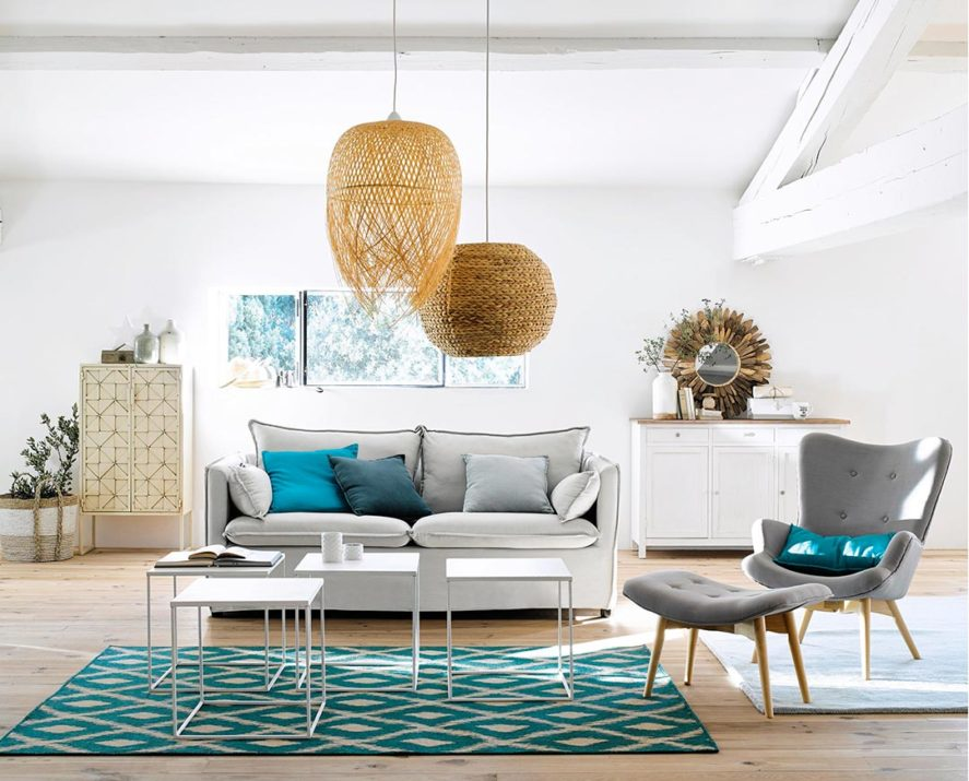 Amazing cuscini per divano bianco ys86 pineglen for Arredare casa in bianco