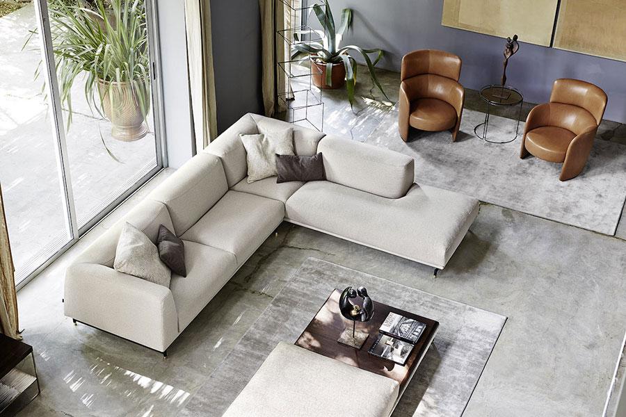 Ditre divano design angolo modello St-germain.