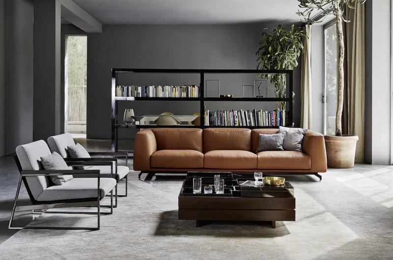 Cameretta angolare con divano trasformabile in letto matrimoniale