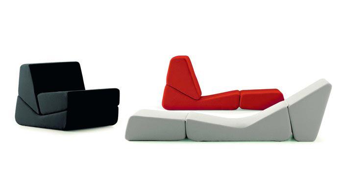Galeotta bonancina poltrona letto design.