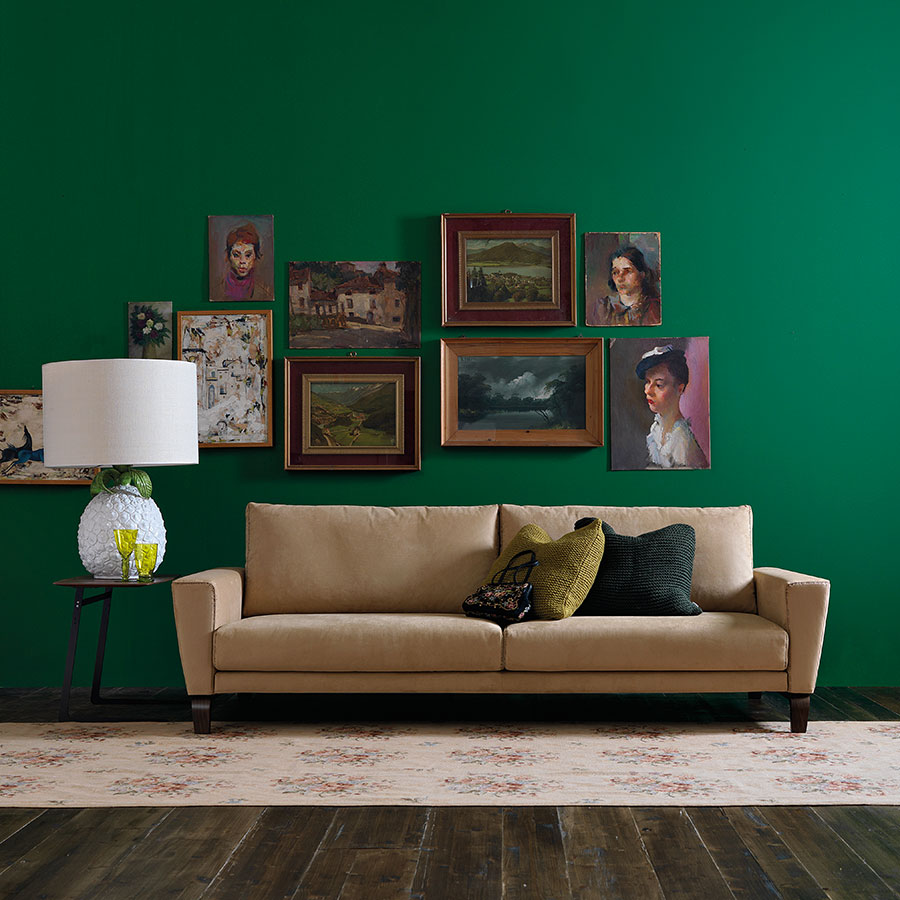 Decorare le pareti del soggiorno con foto e quadri 10 idee for Arredare parete