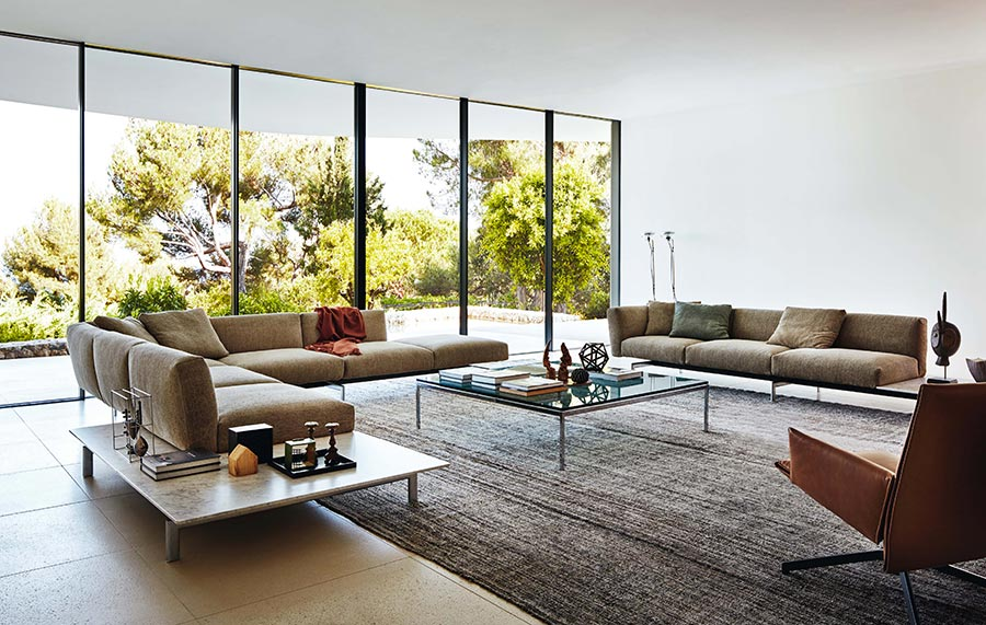 guida al colore delle pareti in soggiorno: il bianco e i toni neutri. - Colori Soggiorno 2016