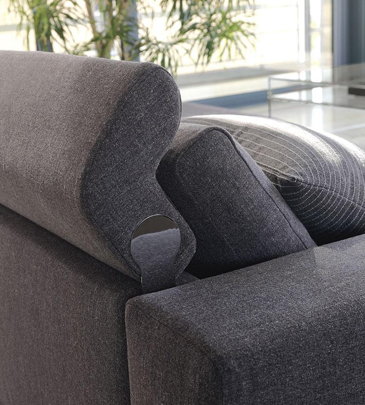 Accessori divani: scienale rialzabile del divano per aumentare il comfort.