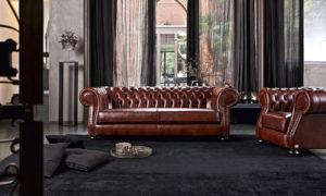 Divano cherster rosso scuro salotto perfetto for Divano rosso abbinamenti