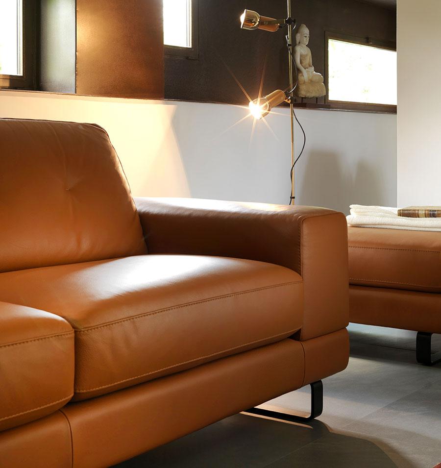 Beautiful divani di pelle pictures for Divani in pelle di design