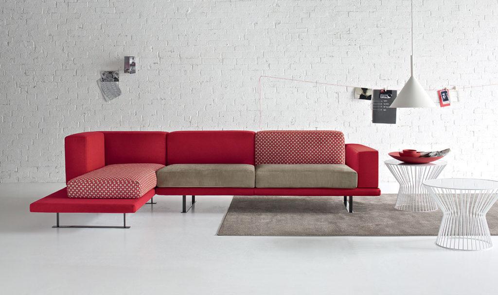 Divano UNDER | Doimo Salotti - divano giovane componibile.