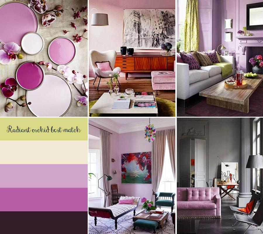 Parete Viola Soggiorno: Colori pareti soggiorno soluzioni moderne Consigli Soggiorno.