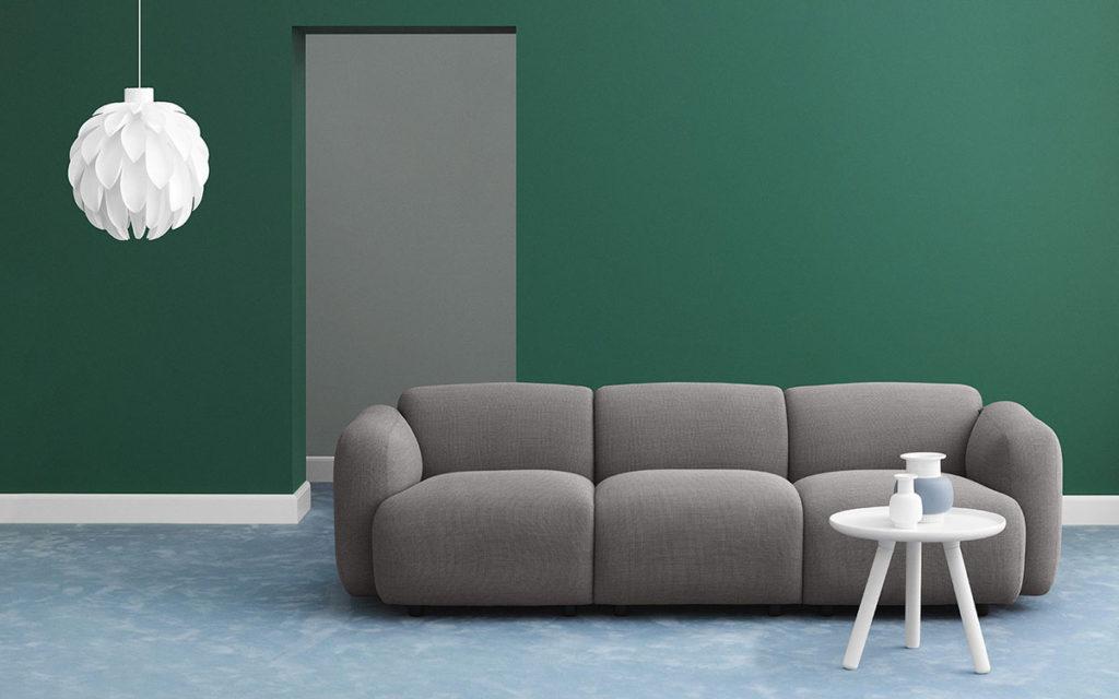 Pareti Salotto Verde : Guida colori casa l equilibrio e l eleganza del verde