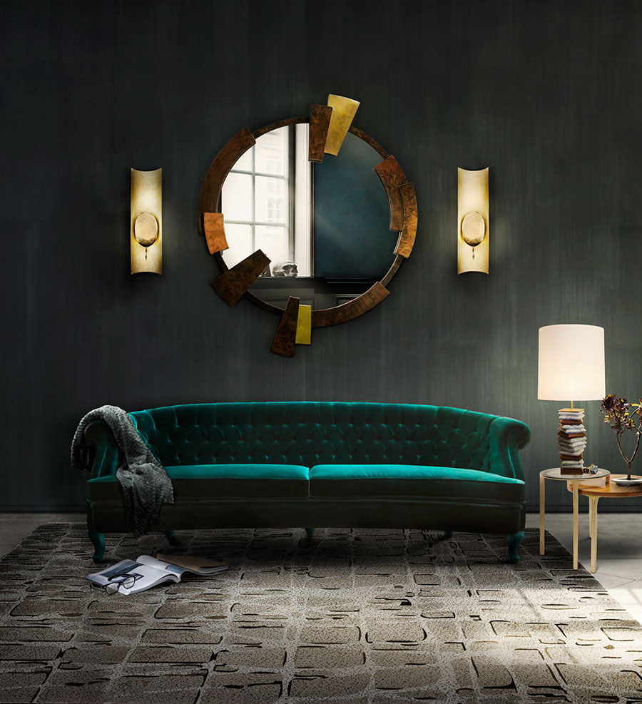 Tessuti Arredamento Per Divani divano in velluto: tendenza arredo 2017. | salotto perfetto