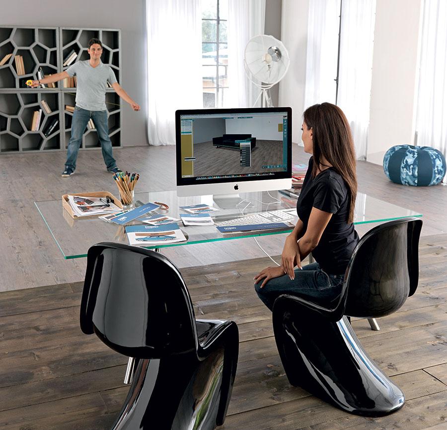 Under Doimo come è possibile personalizzare il divano con il configuratore.