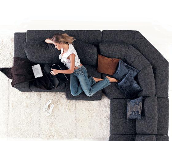 Imbottiture del divano: di cosa sono fatte?