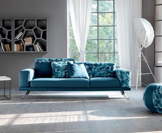 Un divano personalizzabile all'infinito.