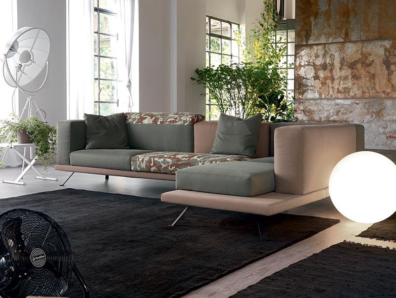 Under divano doimo design personalizzabile.