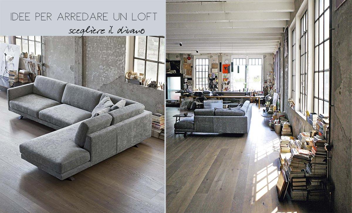 1salotto open space idee arredo salotto perfetto for Arredare open space