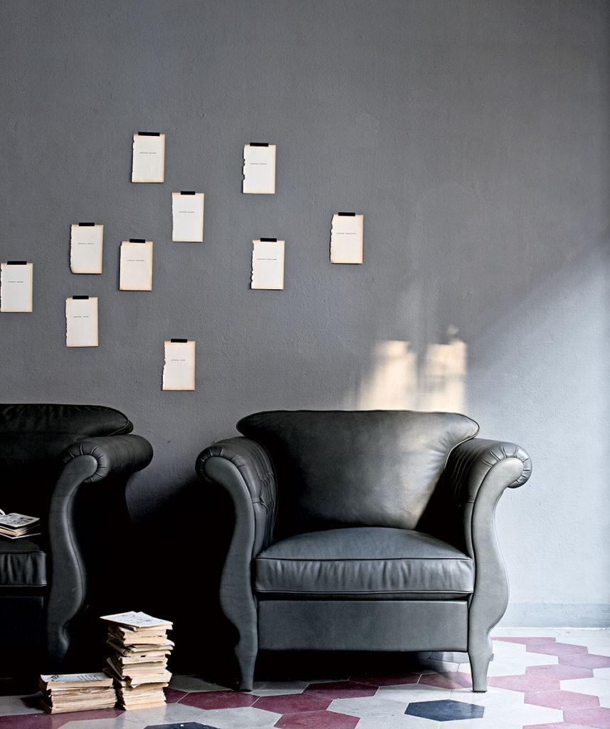 Arredare il soggiorno con il grigio.  SALOTTO PERFETTO