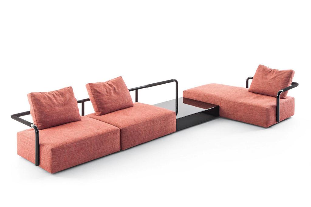 Soft props di cassina - divano anteprime Salone 2017