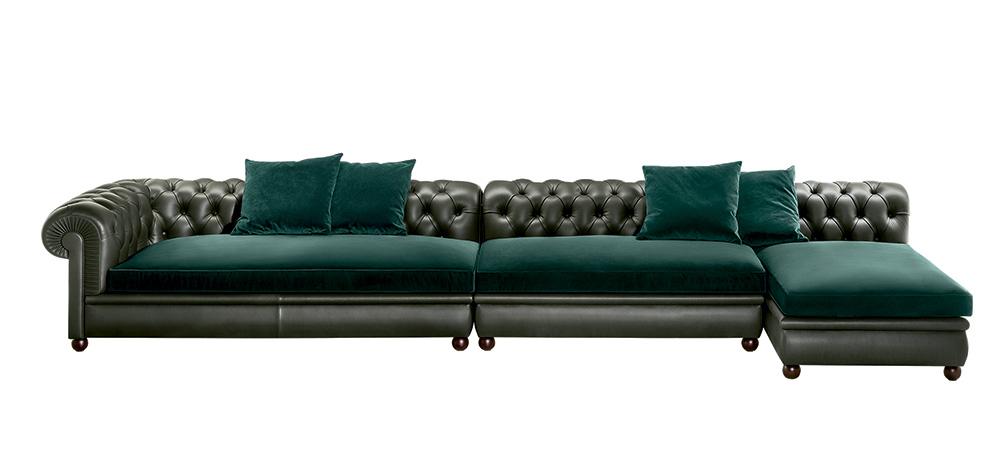 Chester Line novità divano salone del mobile 2017.