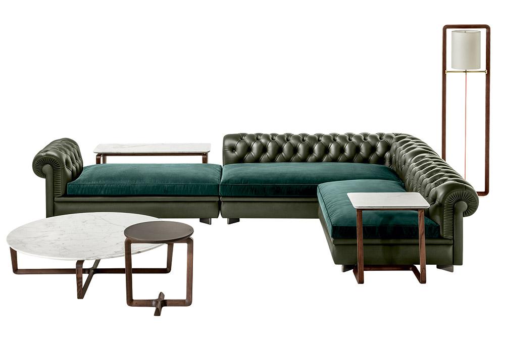 Rreport novità salone mobile divani: Frau Chestr Line