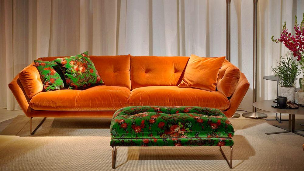 i colori perfetti per il divano 2017- Saba al Salone del Mobile 207