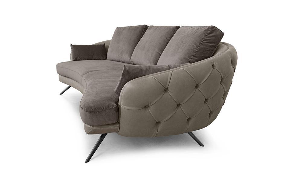 Rreport novità salone mobile divani: Doimo Salotti Clark