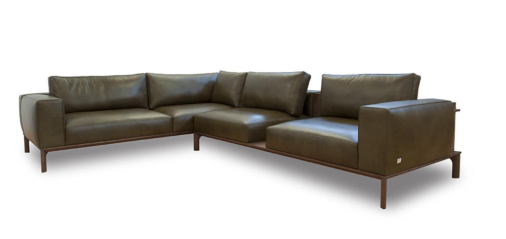 Rreport novità salone mobile divani: Doimo Salotti divano componibile Place.
