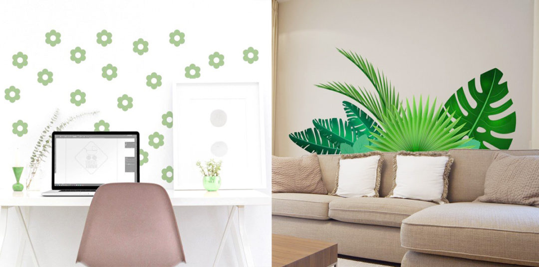 Decorare le pareti del salotto soluzioni efficaci for Adesivi x pareti