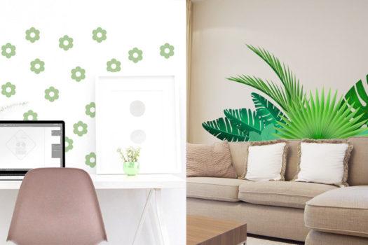 Decorare le pareti del salotto: soluzioni efficaci.