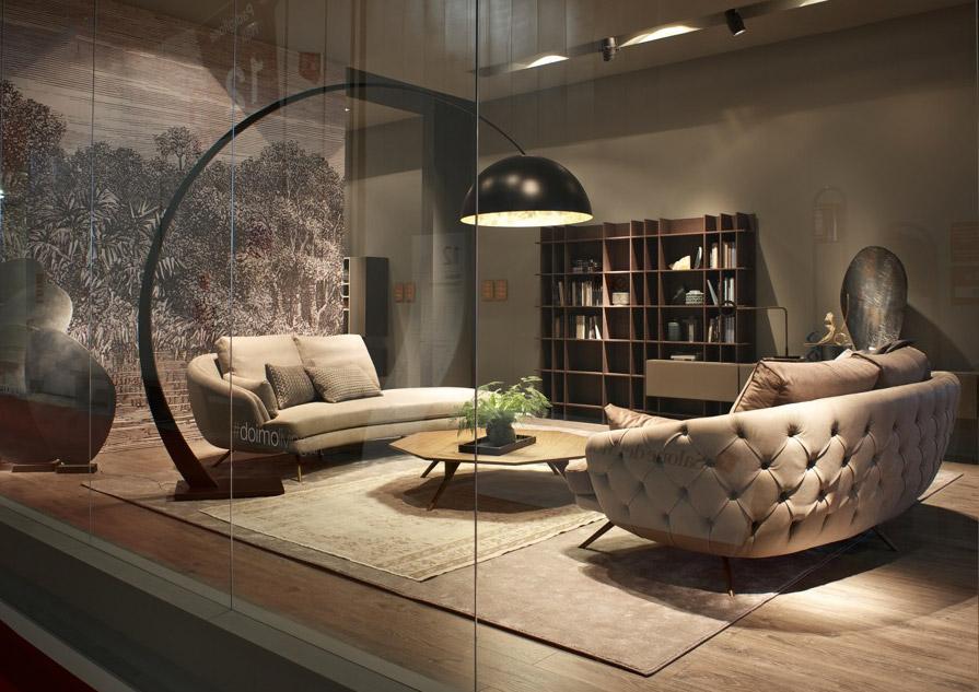 Tra tradizione e modernit il divano con lavorazione capitonn - Divano doimo prezzo ...