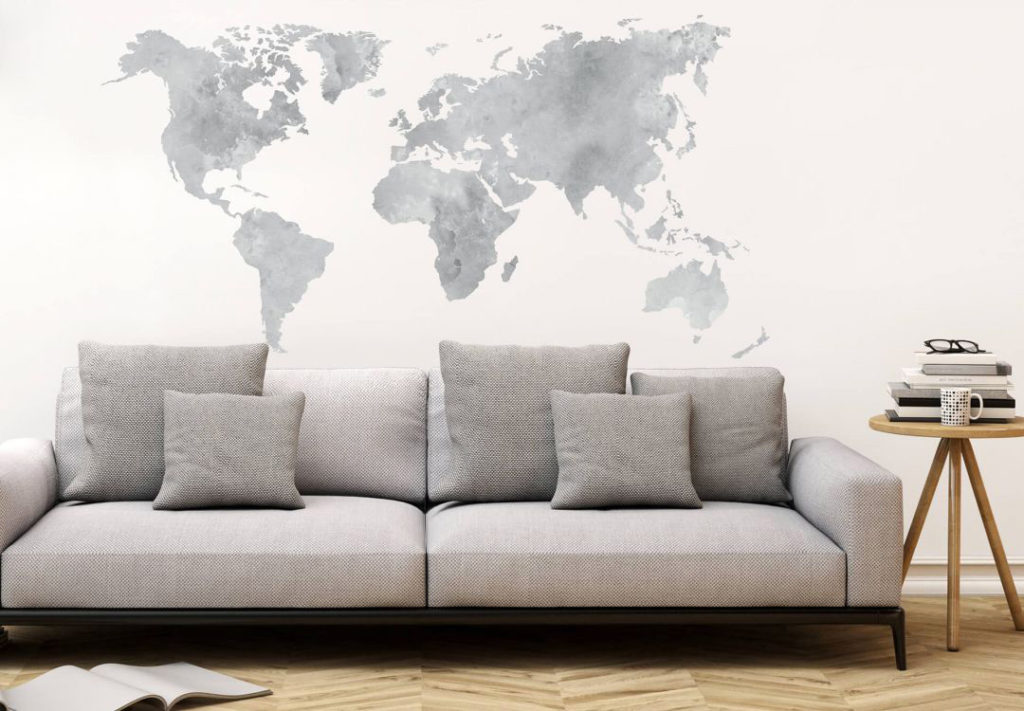 Decorare le pareti del salotto: soluzioni efficaci. | SALOTTO PERFETTO
