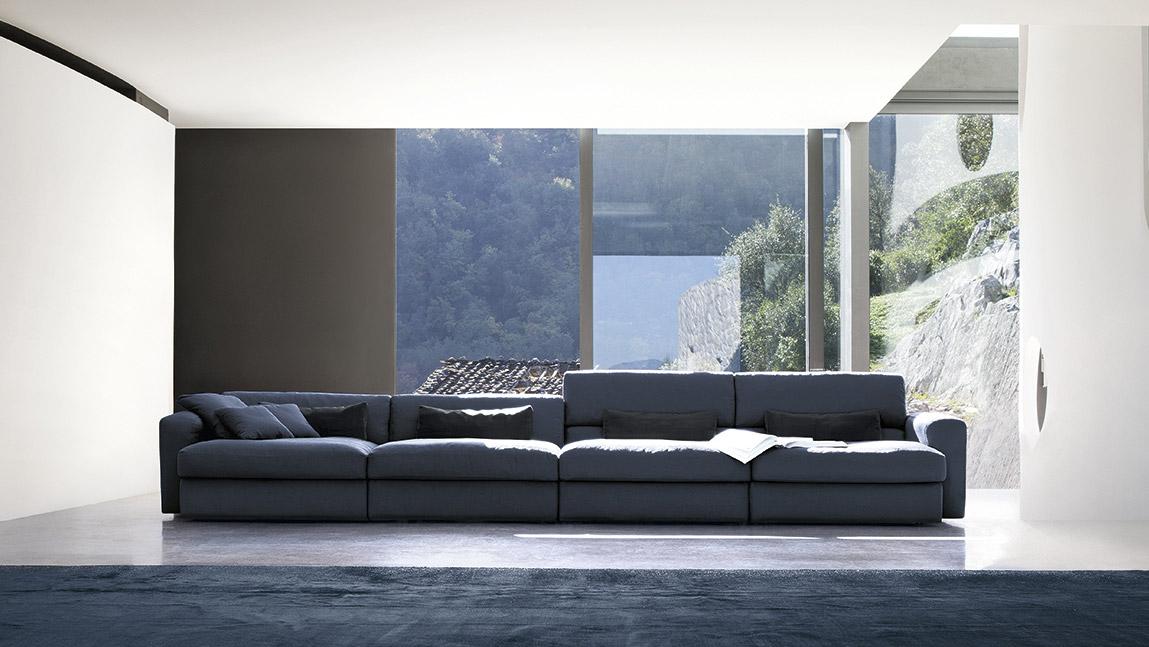 Un divano blu come il mare per il tuo salotto perfetto - Consiglio divano ...