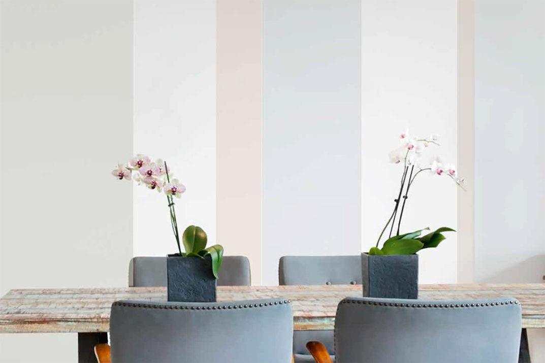 Dipingere casa le righe verticali salotto perfetto - Dipingere la casa ...