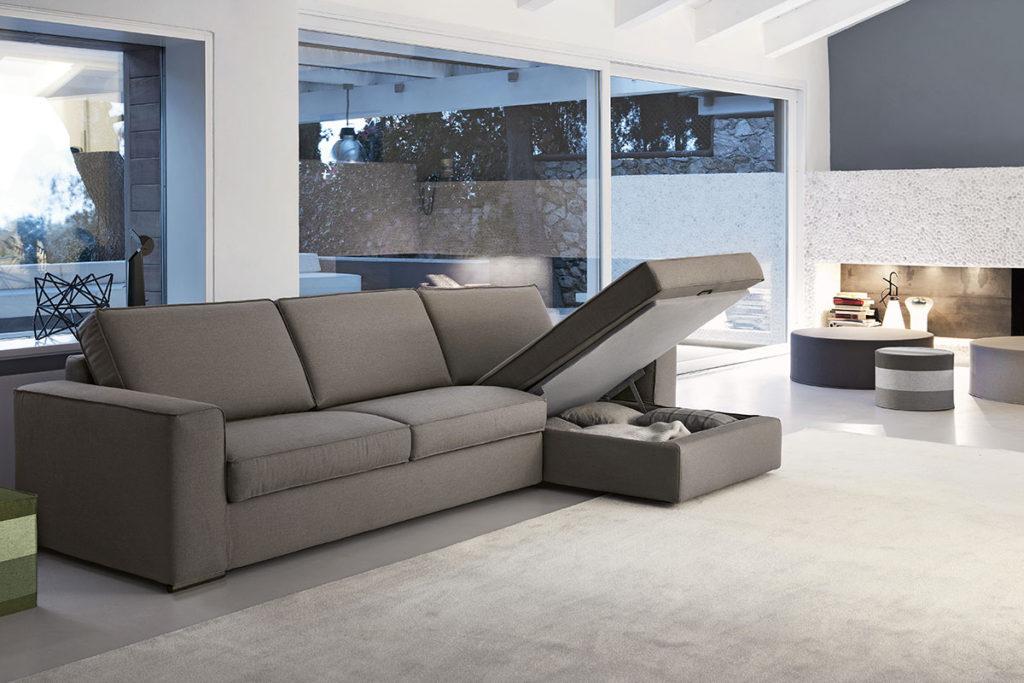 vano contenitore divano Doimo Salotti Kevin.