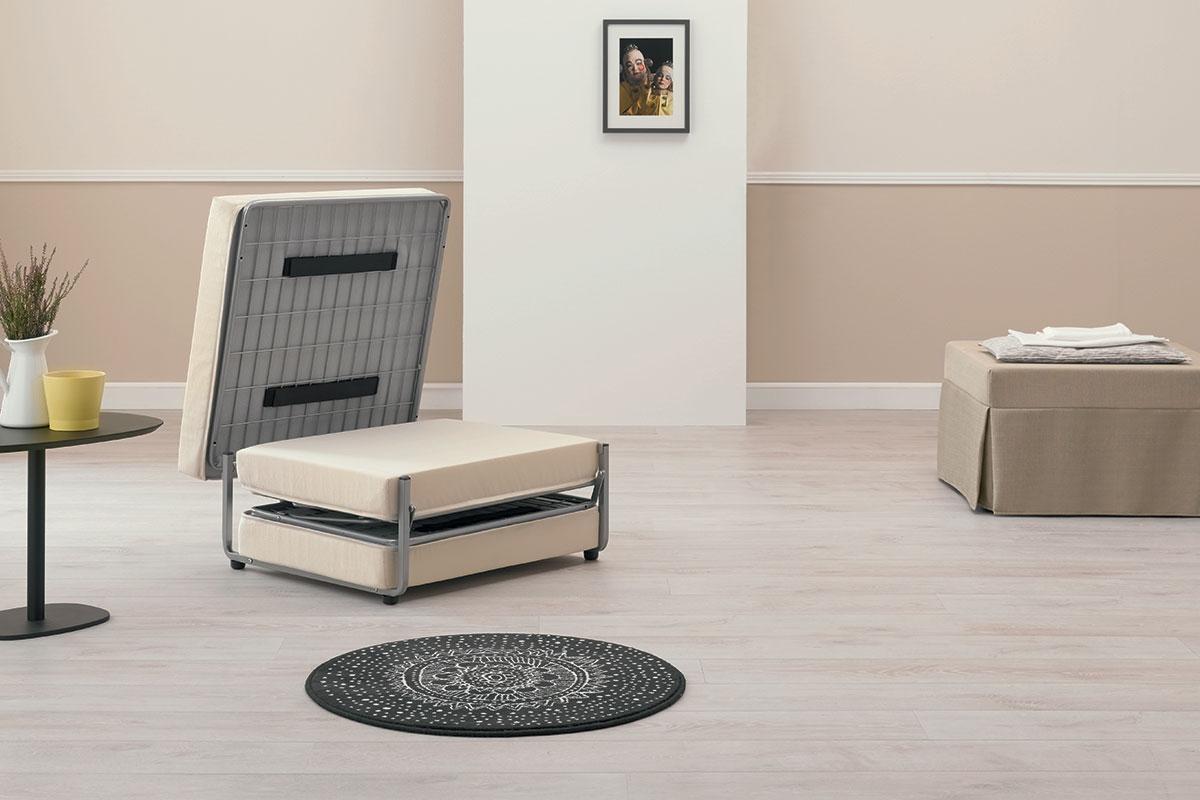 I pouf letto singoli sono comodi per dormire salotto - Letto che si chiude ...