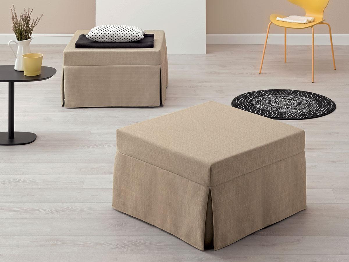I pouf letto singoli sono comodi per dormire salotto perfetto - Letto venezia per dormire ...