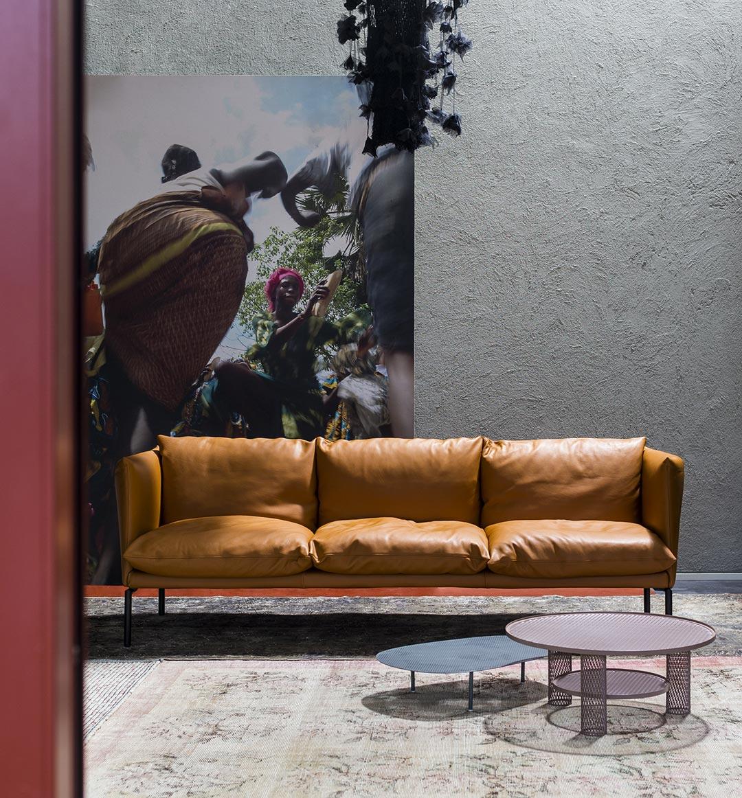 Moroso Gentry - Anteprime divani Salone del Mobile 2018.
