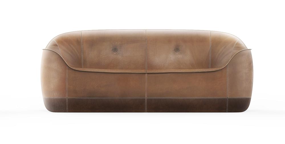 Anteprime divani al Salone del Mobile 2018: Natuzzi - Furrow sofa