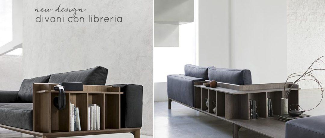 I nuovi divani con libreria.