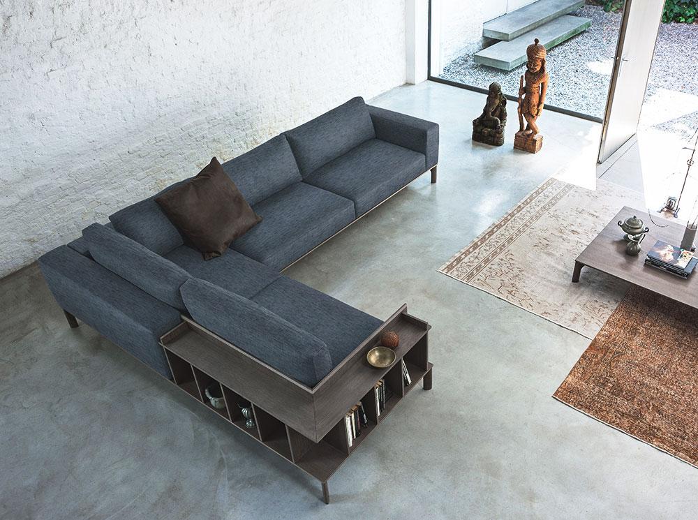 I nuovi divani con libreria. | SALOTTO PERFETTO