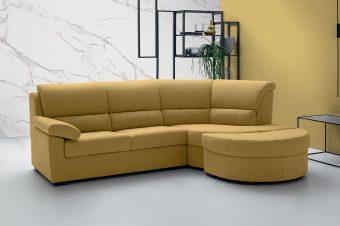 Si può mettere un divano con penisola in 2 metri?