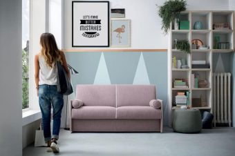 Idee salvaspazio, divani per piccoli spazi