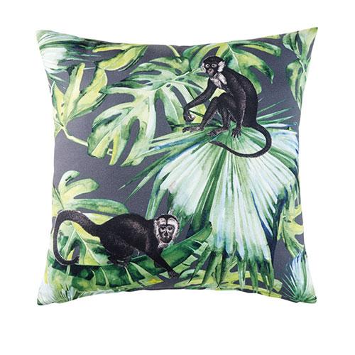 cuscino da esterni con scimmie