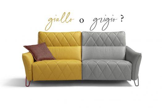 Divano giallo o divano grigio: quale scegliere? Foto e idee per arredare.